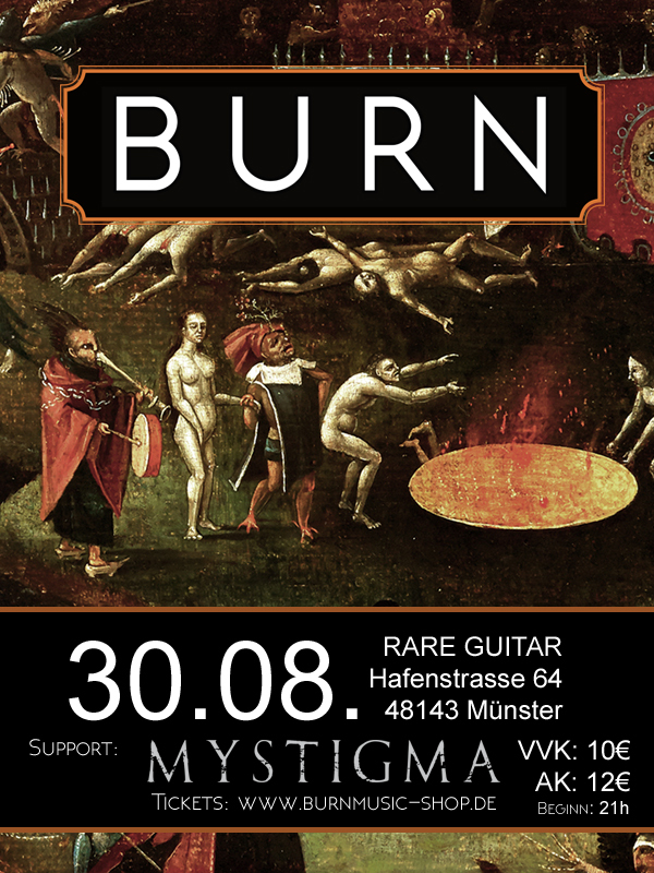 Ticket // Burn Live 30.08.2019